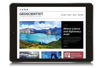 Welcome to our new Geoscientist website